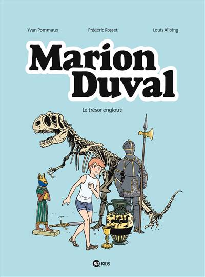 Marion Duval T.24 ; Le Trésor Englouti