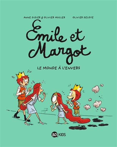Emile Et Margot T.5 ; L'envers Du Décor