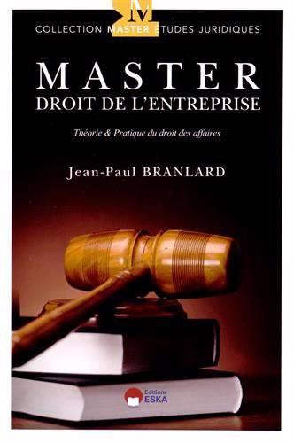 Master Droit De L'entreprise