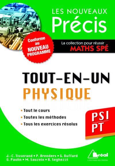 Tout-en-un ; Physique Psi/pt