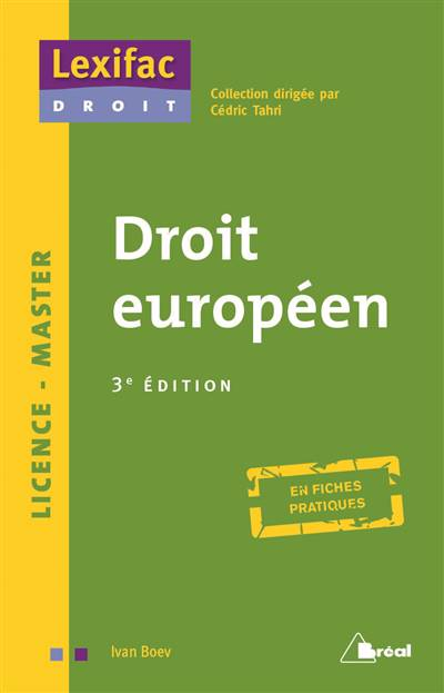 Droit Européen