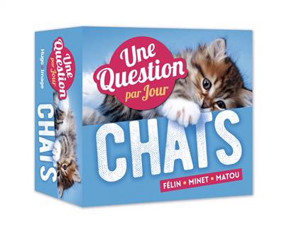Une Question De Chats Par Jour (édition 2019)