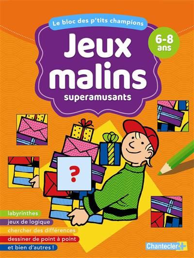 Bloc Jeux Malins Superamusants 6-8 Ans