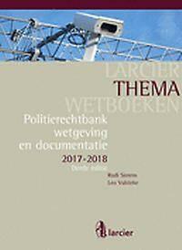 POLITIERECHTBANK - Wetgeving en documentatie 2017