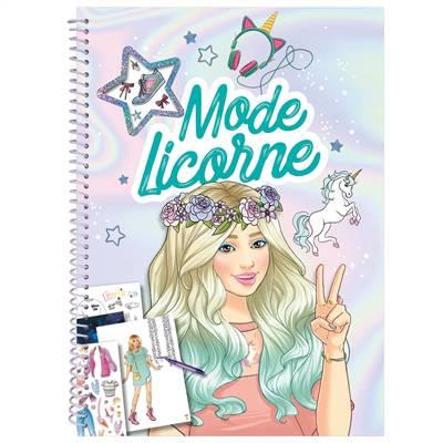 Mode Licorne ; Cahier Créatif