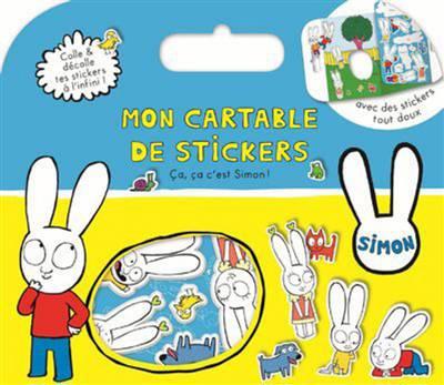 Cartable De Stickers ; Simon