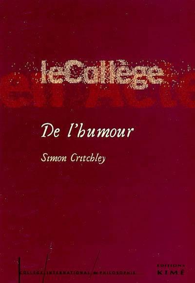 De L'humour - College International De Philosophie