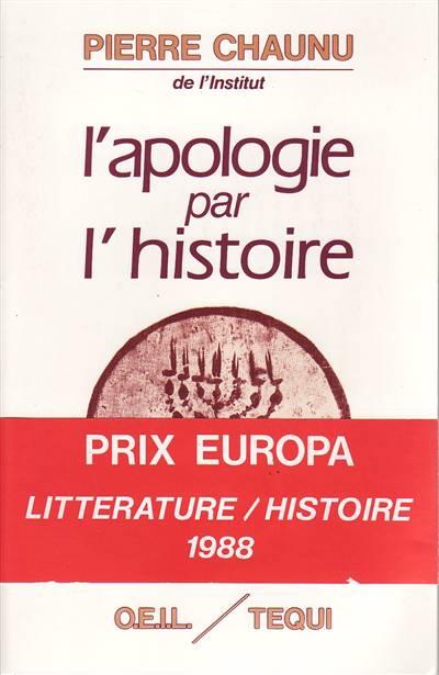 L'apologie Par L'histoire