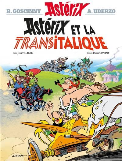Astérix T.37 ; Astérix Et La Transitalique