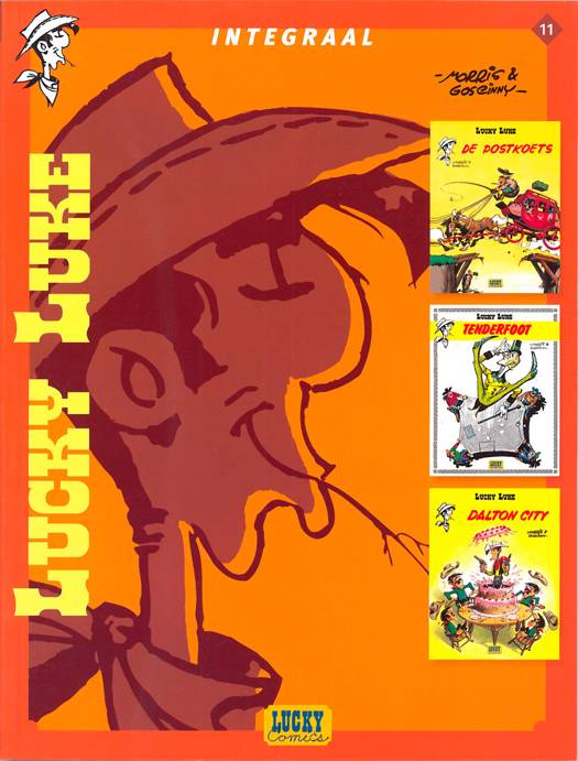 Lucky Luke - Integraal T11 Lucky Luke Integraal Deel 11