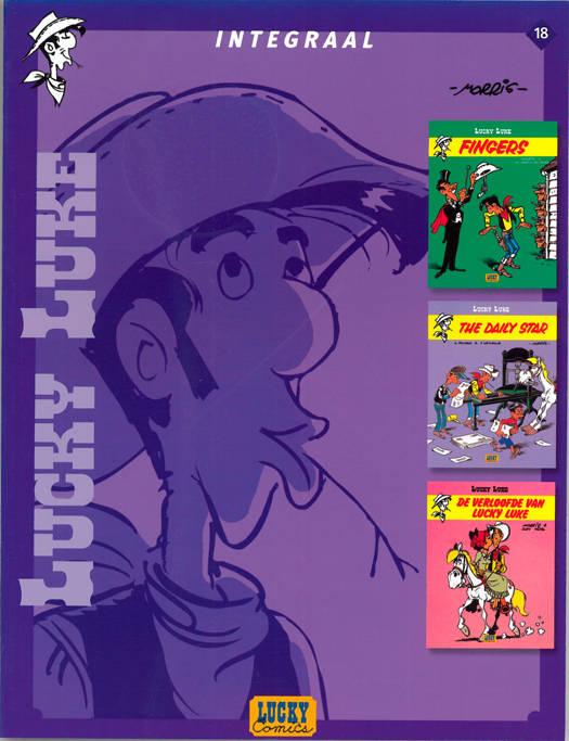 Lucky Luke - Integraal T18 Lucky Luke Integraal Deel 18