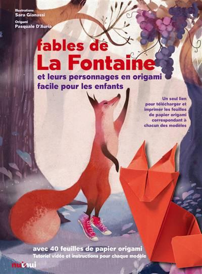 Les Fables De La Fontaine Et Les Personnages En Origami Standaard