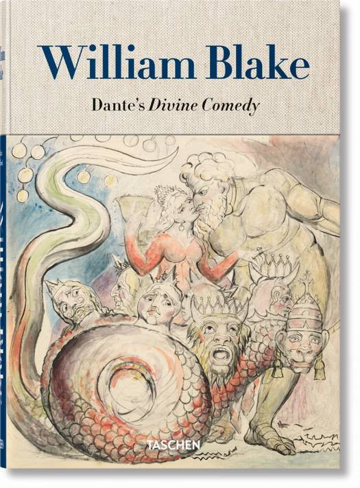 William Blake. Dante's `Divine Comedy'. The Complete Drawings