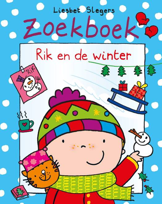 Zoekboek Rik en de winter