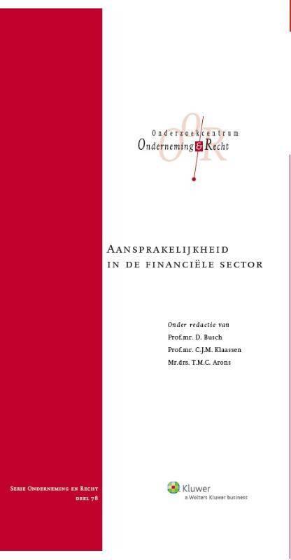 Aansprakelijkheid in de financiele sector