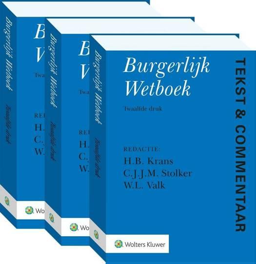 Tekst & Commentaar Burgerlijk Wetboek 1 en 2