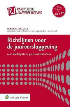 Richtlijnen voor de jaarverslaggeving, middelgrote en grote rechtspersonen 2017