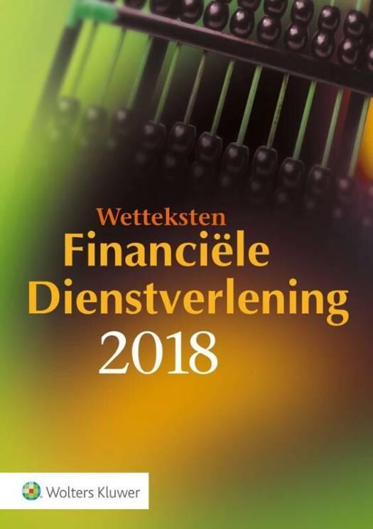 Wetteksten Financiële Dienstverlening 2018