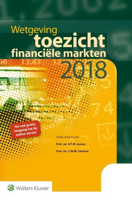 Wetgeving toezicht financiële markten 2018