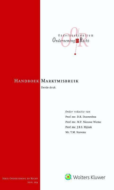 Handboek Marktmisbruik