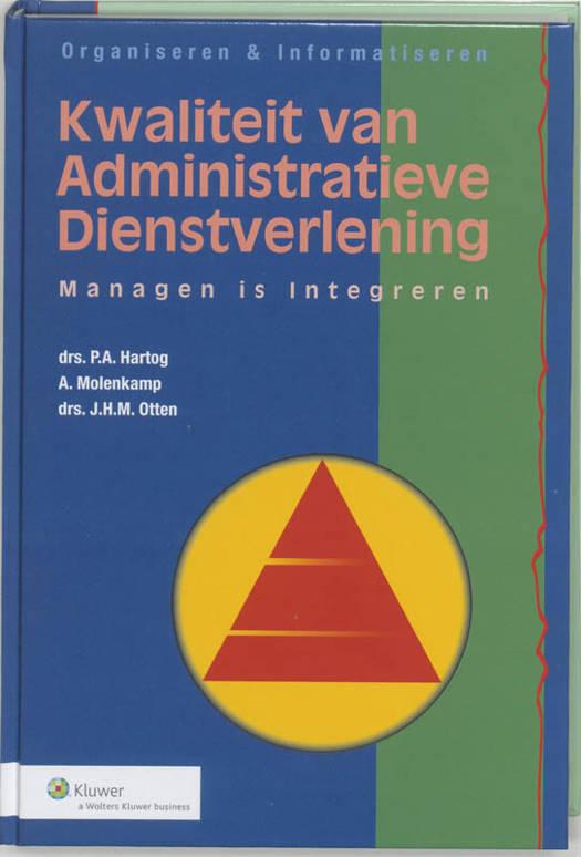 Kwaliteit van administratieve dienstverlening