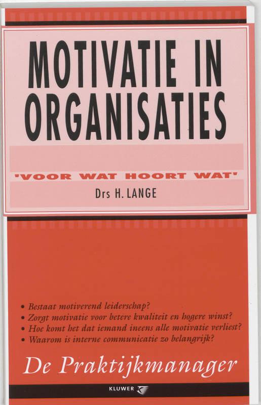 Motivatie in organisaties