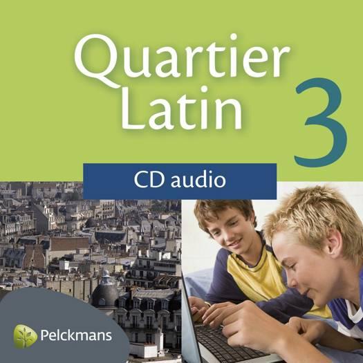 Quartier Latin 3 audio-cd's