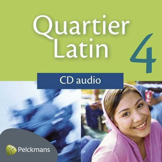 Quartier Latin 4 audio-cd