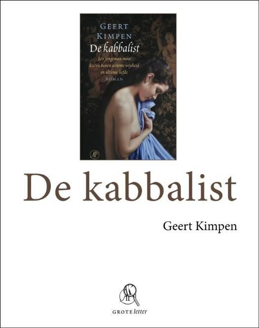 De kabbalist - grote letter