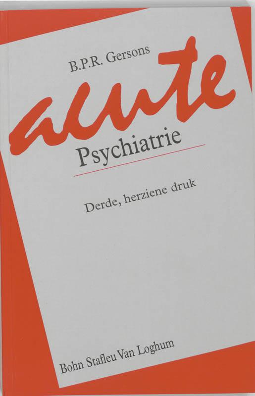 Acute psychiatrie