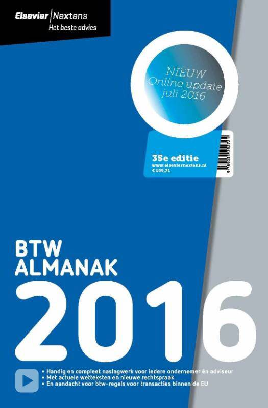 Elsevier BTW Almanak 2016