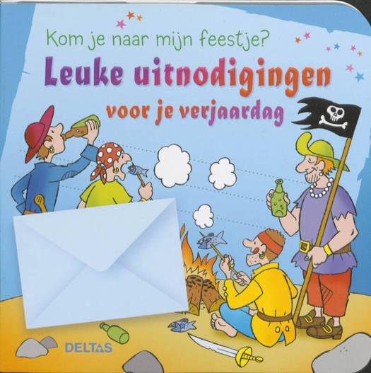 Leuke Uitnodigingen Voor Je Verjaardag Piraten Standaard Boekhandel