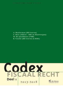 Codex fiscaal recht 2017-2018