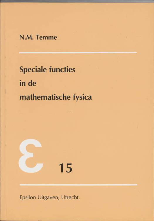 Speciale functies in de mathematische fysica