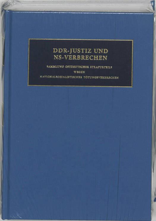 DDR-Justiz und NS-Verbrechen 10 Die Verfahren Nr 1523-1609 des Jahres 1948