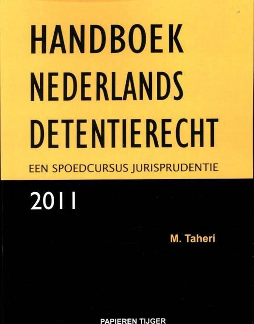 Handboek Nederlands detentierecht