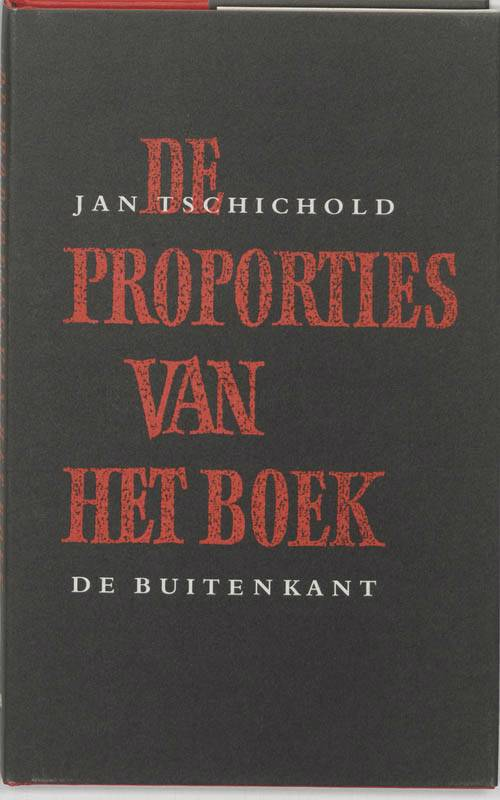 De proporties van het boek