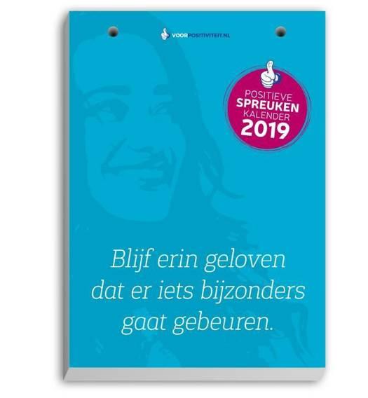 positieve spreuken scheurkalender Scheurkalender positieve spreuken 2019 | Standaard Boekhandel positieve spreuken scheurkalender