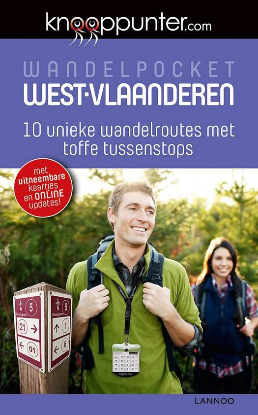 Knooppunter Wandelpocket West-Vlaanderen + necklace
