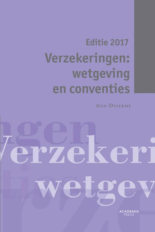 Verzekeringen: wetgeving en conventies