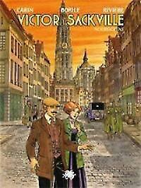 Victor Sackville 22 Noordgrens ANTWERPSE COVER + DOSSIER