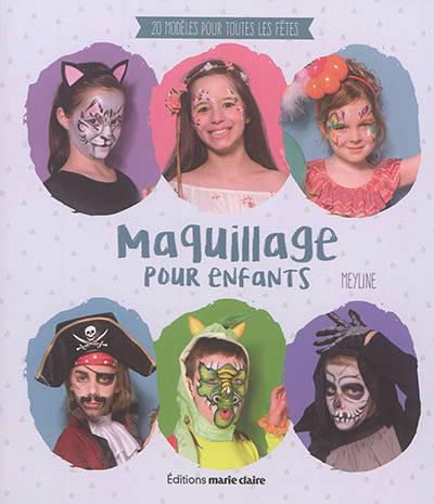 Maquillage Pour Enfants 20 Modèles Pour Toutes Les Fêtes