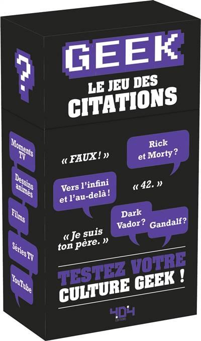 Geek ; Le Jeu Des Citations