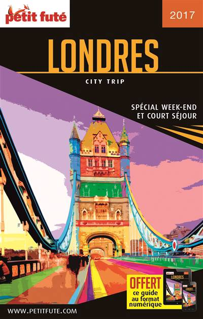 Guide Petit Fute ; City Trip ; Londres (édition 2017)